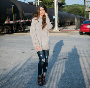 Cozy Oversized Sweater | Ash Rose