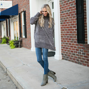 Cozy Oversized Sweater | Rust