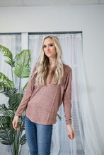 Cozy Heathered Tunic | Dusty Rose