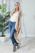 Maxi Cardigan | True Taupe