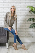 Cozy Heathered Tunic | Taupe