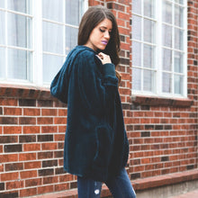 Cozy Fleece Jacket | Teal