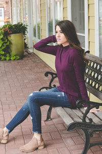 Mock Neck Tunic | More Colors