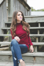 Mock Neck Tunic | Dark Olive