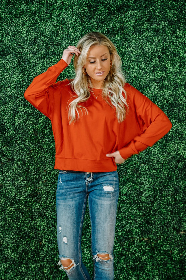 Easy Fit Jersey Pullover | 2 Colors