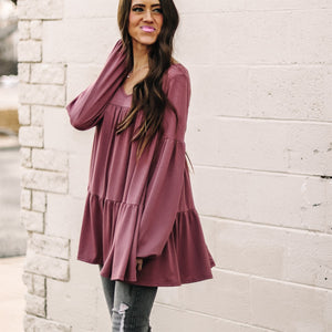Ella Tiered Babydoll Tunic | 8 Colors