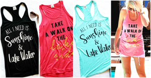 Lake Side Tanks | 7 Colors