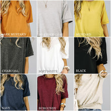 French Terry Tunic | 10 Colors