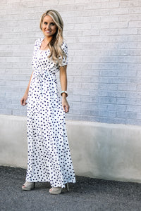 Gigi Polka Dot Wrap Dress