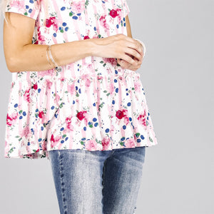 Hope Peplum Tunic | 4 Prints