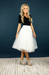 Arabesque Tulle Skirt