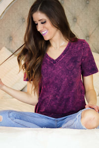 V Neck Gem Tees | More Colors