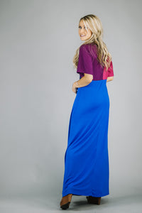 On The Pier Colorblock Maxi | 4 Colors