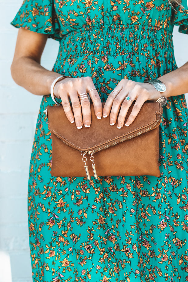Londyn Envelope Clutch | Brick
