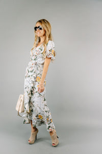Off the Grid Wrap Dress