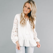 Everlie Lace Tunic
