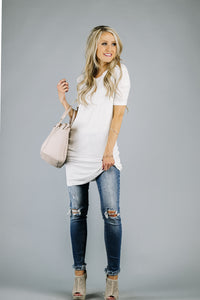 Everyday Ribbed Tunic | More Colors