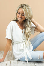 Evie Tie Waist Blouse | More Colors