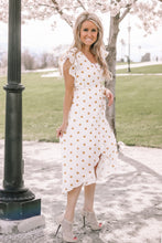 On the Dot Wrap Dress | Sunflower