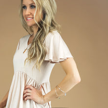 Flutter Sleeve Babydoll Tunic | More Colors