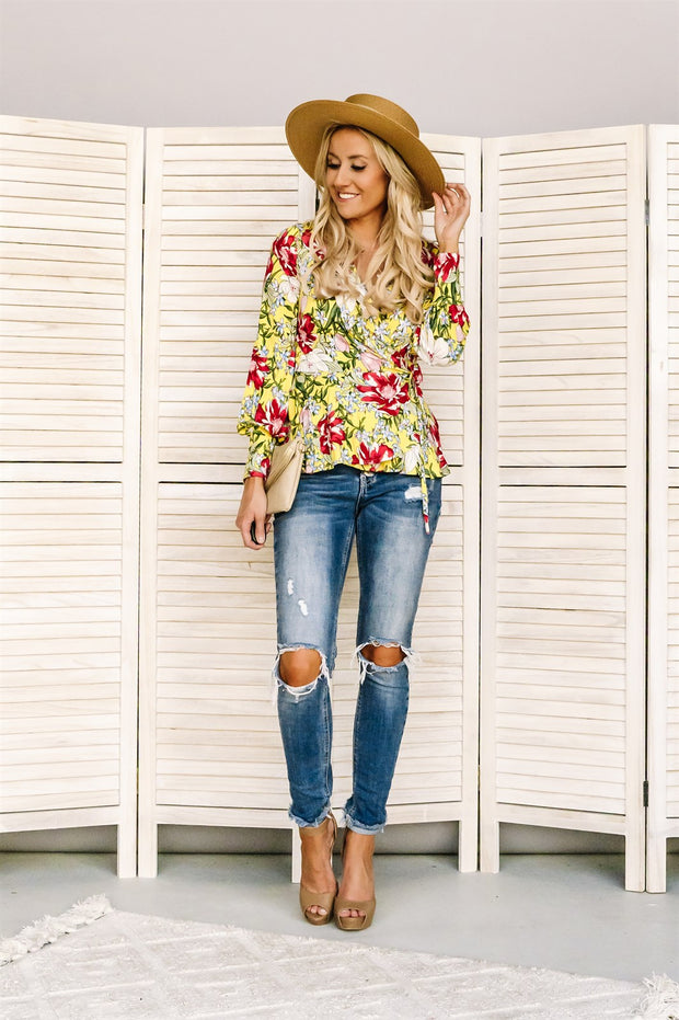 It's A Tie Floral Tunic | 3 Colors