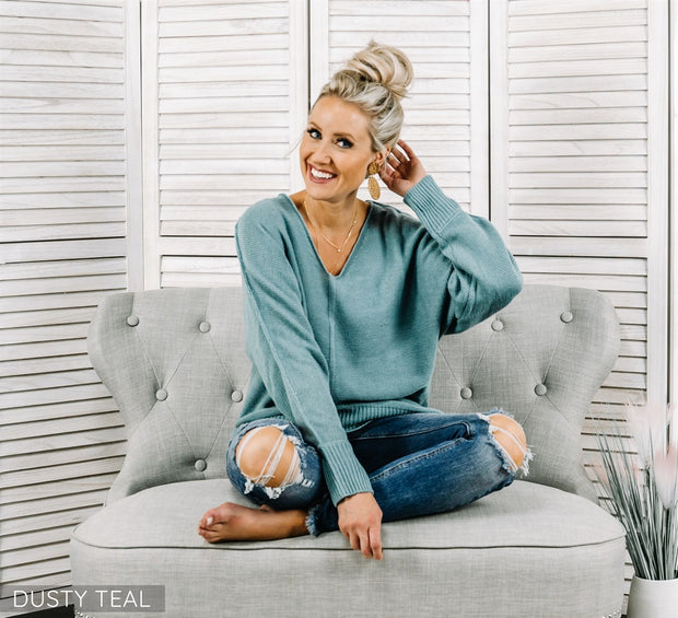 Kami Cozy Knit Sweater | 16 Colors
