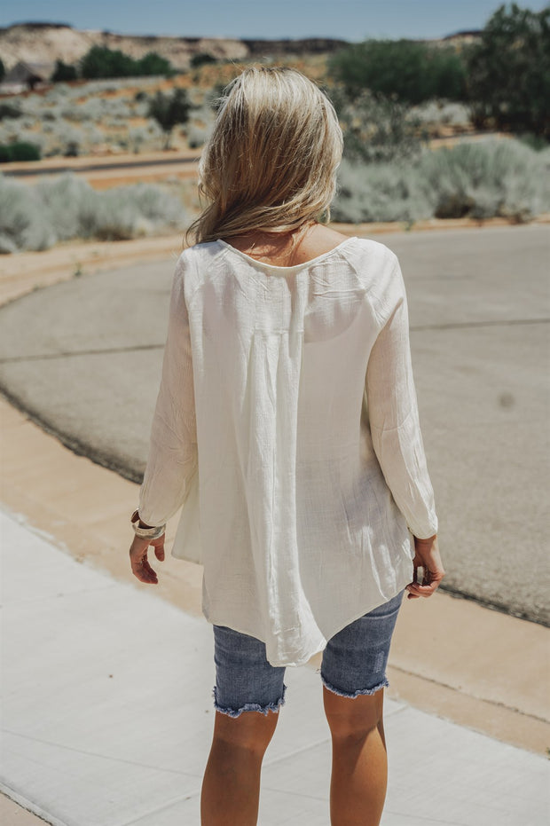 Madison Crochet Blouse | 2 Colors