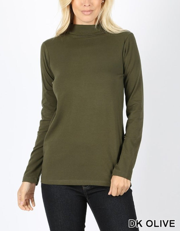 Layering Mock Neck | 20 Colors