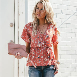 Poppy Wrap Blouse | 3 Colors