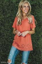 Selena Eyelet Hem Tunic | 5 Colors