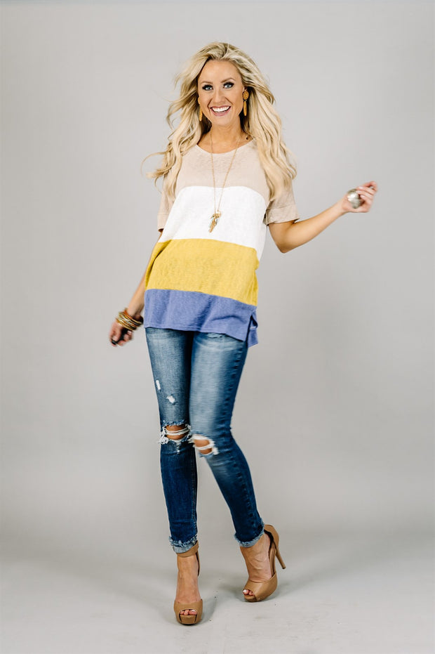 Shayla Stripe Tunic | 3 Colors