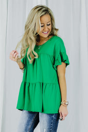 Sienna Tiered Ruffle Tunic | 5 Colors