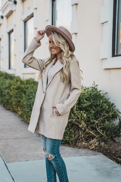 Single Season Button Jacket | 4 Colors