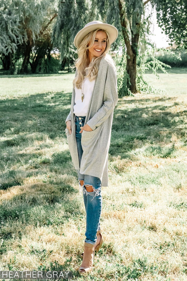 Traveler Pocket Cardigan | 7 Colors