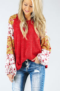 Aria Mixed Print Tunic