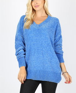 Cozy Oversized Sweater | Navy