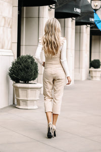 Claire Ruffle Jumpsuit | 3 Colors