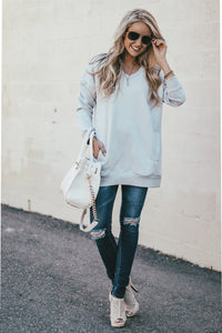 Cocoa Sweatshirt Tunic | Many Colors