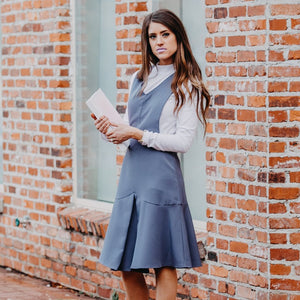 Boston Pinafore | Indigo