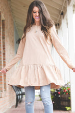 Lauren Sweater Peplum | Taupe