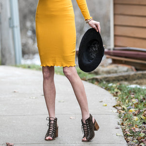 New Day Dress | Mustard
