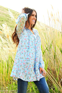 Skye Full of Petals Tunic