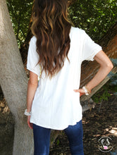 Bow Tie Flowy Top | 3 Colors!