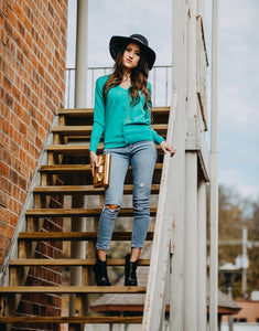 Luxe Cardigan | Kelly Green