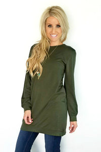 Cozy Terry Dress | 3 Colors!