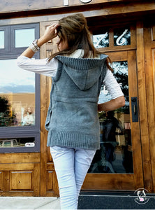 Sherpa Lined Knit Vest | 2 Colors