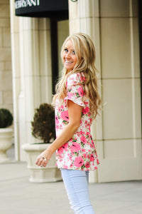 Garden Ruffle Tunic | Many Colors