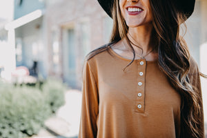 Lightweight Henley Tunic | Many Colors
