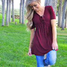 Londyn Lace Up Tunic | 4 colors