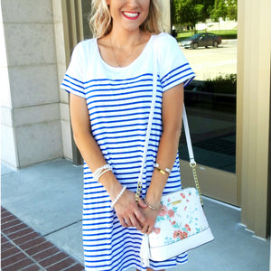 Striped Swing Dress | 3 Colors
